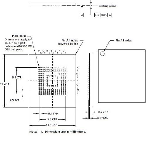 N-UFS-050-FBGA153-115130-01O Schematics