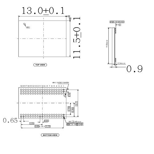 N-UFS-065-BGA095-115130-01O Schematics