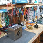 benchtop solder fume extraction unit