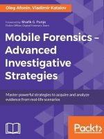 Mobile Forensics - Advanced Investigative Strategies Book