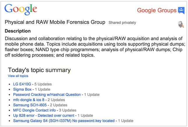 PRAW-google-group